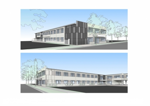 Conceptual external design for the APVMA office in Armidale