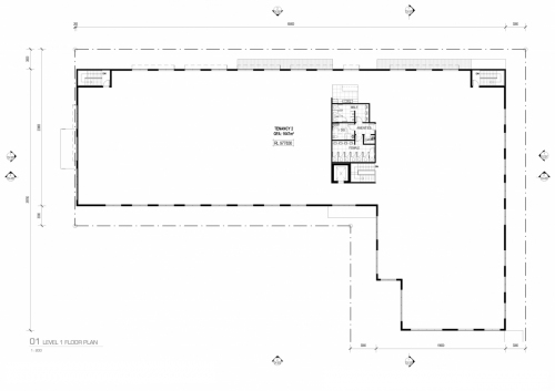 Level 1 floor plan for the APVMA office in Armidale